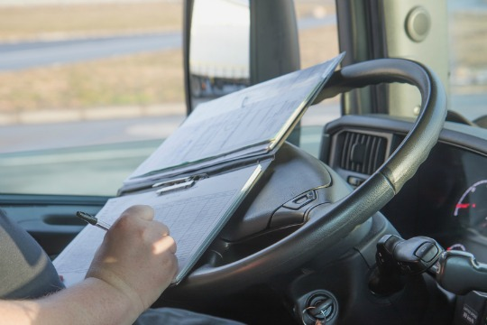 truck driver documentation