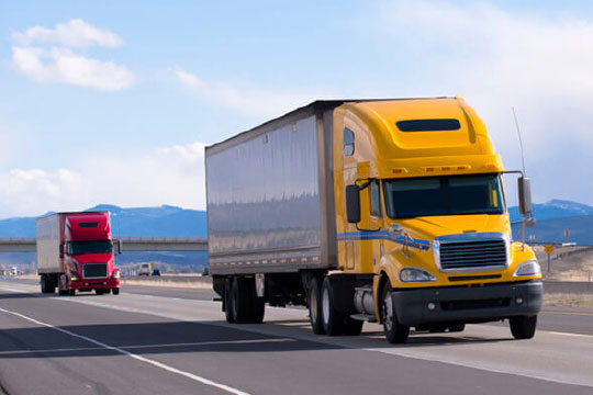 dry van trucking vs  refrigerated shipping and flatbed