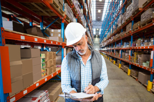 Warehouse worker checklist
