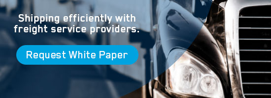 shipping efficiently with freight service providers banner