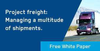 Project freight: Managing a multitude of shipments