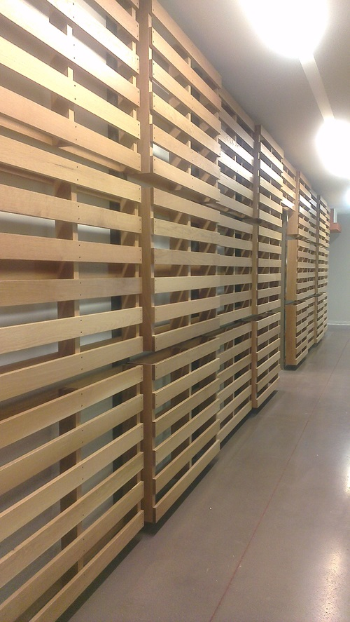 FQ headquarter pallets