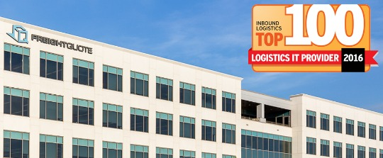 Top 100 Logistics IT providers 2016