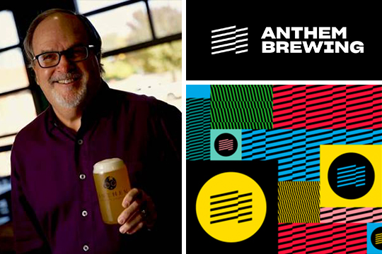 Anthem brewing logo and image