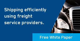 Shipping efficiently using a freight service provider