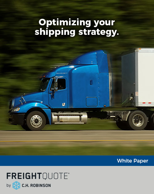 Optimizing your shipping strategy