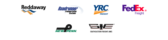Partner carrier logos